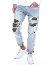 Levi's - HI BALL ROLL CAMO SHRED JEAN-2312985