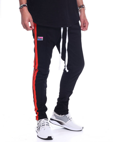 Buyers Picks - CONTRAST TAPE TRACK PANT