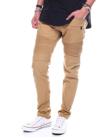 Buyers Picks - Twill Moto Pant with Zipper