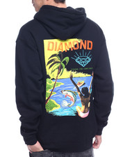 Diamond Supply Co - FISHING FOR COMPLIMENTS HOODY-2312898