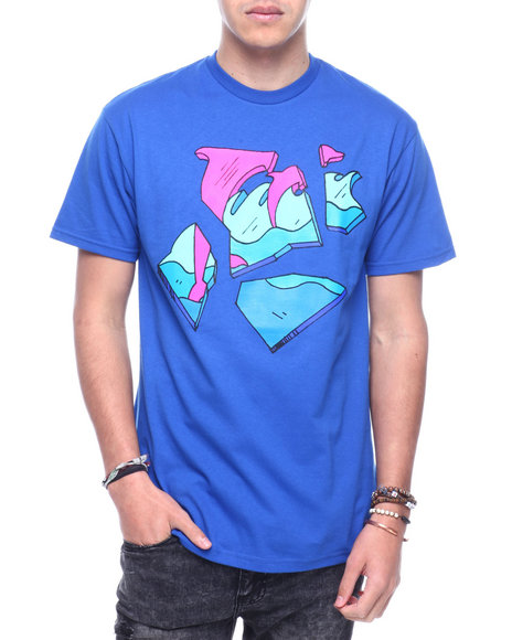 Pink Dolphin - SHATTER WAVES TEE V2