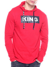 Buyers Picks - King L/S Hooded Tee-2313450