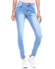 Bottoms - 5 Pocket Stretch High Waisted Skinny Jean-2312846