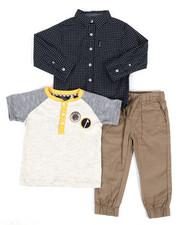 Ben Sherman - 3 Piece Knit Set (2T-4T)-2311033