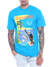 Diamond Supply Co - FISHING FOR COMPLIMENTS TEE-2313300