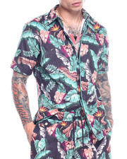 Diamond Supply Co - TROPICAL PARADISE SS WOVEN Shirt-2313455