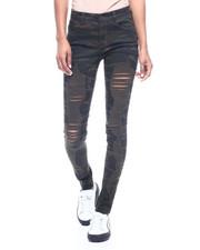 Women - Heavy Destructed 5 Pocket Skinny Jean-2312748