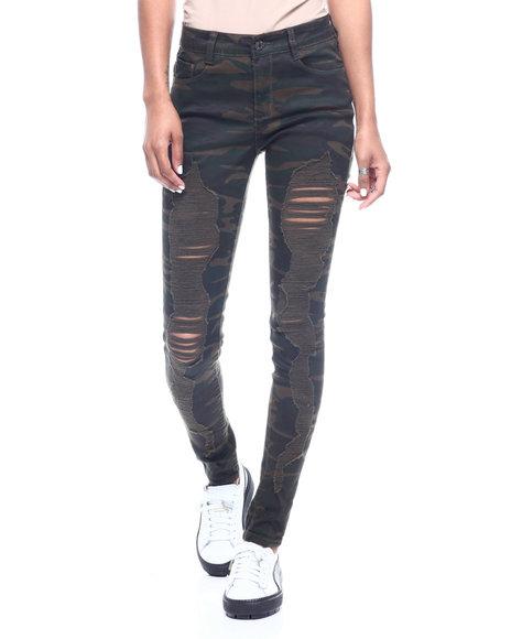 Fashion Lab - Heavy Destructed 5 Pocket Skinny Jean