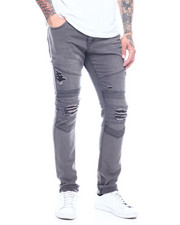 Buyers Picks - Stretch Moto Jean w Ripped Knee and Seamed Detail-2313566