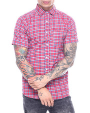 Button-downs - Red Country Plaid SS Woven Shirt-2313521