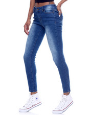 Bottoms - 5 Pocket Skinny Jean W/ Baking-2312590