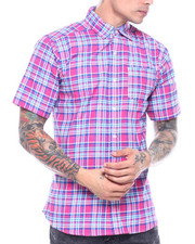 Button-downs - Pink Candy Plaid SS Woven Shirt-2313515