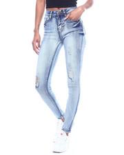 Jeans - High Waist Acid Ripped Skinny Jean-2312545