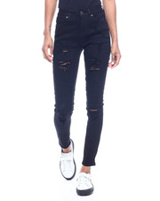 Bottoms - High Waist Moto Skinny Jean-2312536