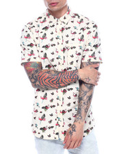 Button-downs - Flamingo SS Woven Shirt-2313290