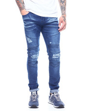 Buyers Picks - Stretch Moto Jean w Ripped Knee and Seamed Detail-2313577