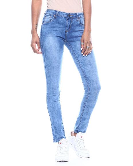 Fashion Lab - Acid 5 Pocket Skinny Jean