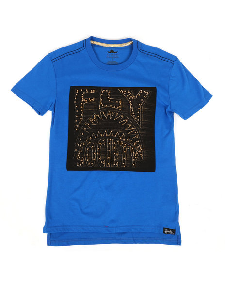 Fly Society - Fly Printed Tee w/ Stud Embellishments (8-20)