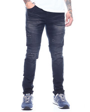 Buyers Picks - Stretch Moto Jean w Ripped Knee and Seamed Detail-2313533