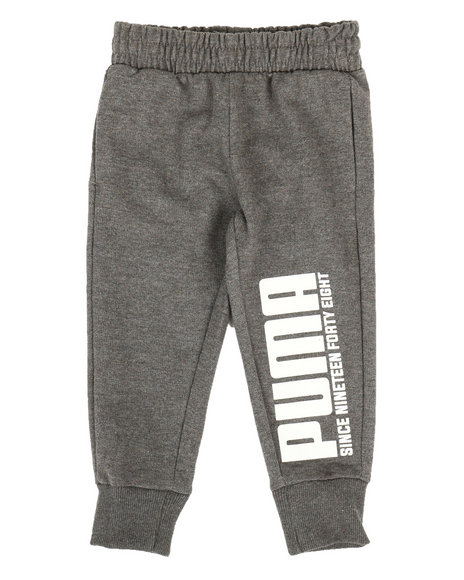 Puma - French Terry Jogger Pants (2T-4T)
