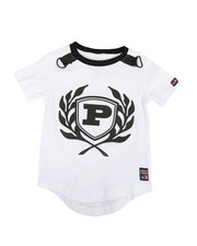 Phat Farm - Solid Crew Neck Tee W/ Rubber Patch (2T-4T)-2311769