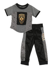 Enyce - Graphic Tee & Jogger Pants Set (Infant)-2311472
