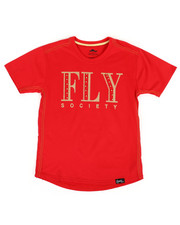 Fly Society - Fly Printed Tee (8-20)-2311845