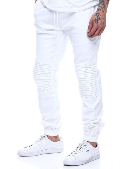 Buyers Picks - stretch twill moto jogger