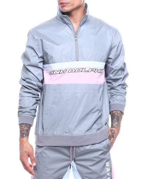 Pink Dolphin - REFLECTIVE WAVECLUB ANORAK