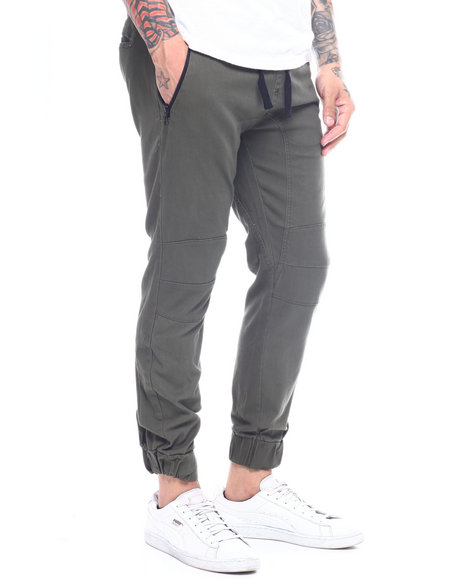 Buyers Picks - stretch twill side zip jogger