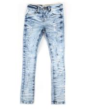 Arcade Styles - Wild Tiger Skinny Denim Jeans (8-20)-2311907