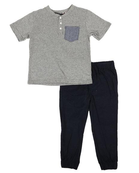 Ben Sherman - 2 Piece Tee & Pants Set (4-7)