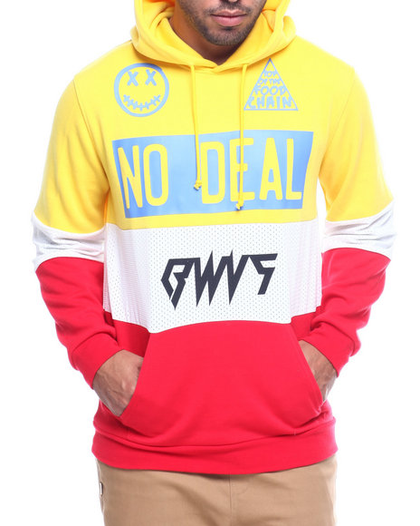 BWOOD - No Deal Columbia Colorblock Hoodie