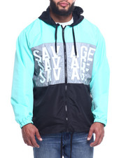 FIVE BY FIVE - Hood Lined W/ Mint Jersey (B&T)-2314067