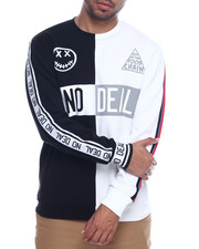 Sweatshirts & Sweaters - No Deal Split Crewneck Sweatshirt-2314189