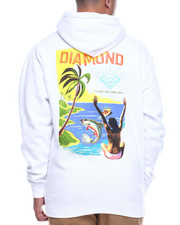 Diamond Supply Co - FISHING FOR COMPLIMENTS HOODY-2314027