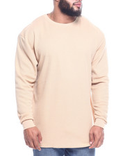 Basic Essentials - Fitted Lightweight Crew Neck L/S Thermal (B&T)-2312627