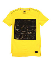 Fly Society - Fly Printed Tee w/ Stud Embellishments (8-20)-2313674