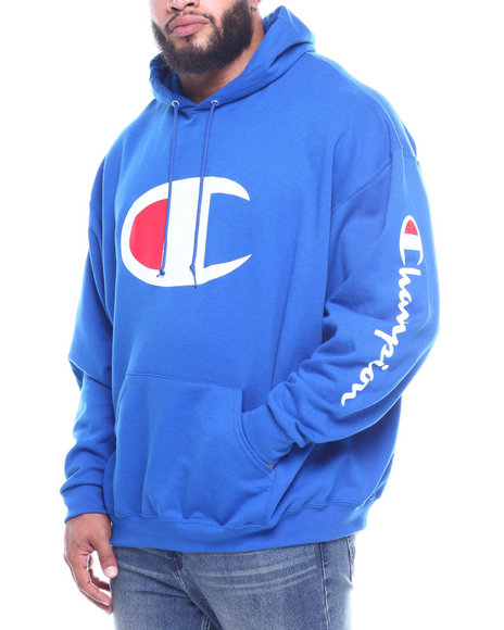 Champion - Fleece Logo Hoodie (B&T)