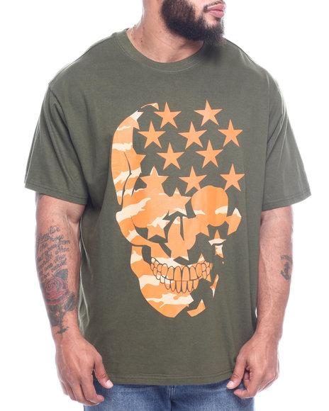 Phat Farm - S/S Printed Camo Skull Crew Neck Jersey