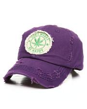 Dad Hats - Marijuana Plant Distressed Dad Hat-2311946