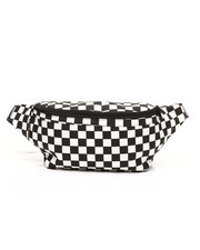Bags - Checkerboard Pattern Savage Fanny Pack-2313241