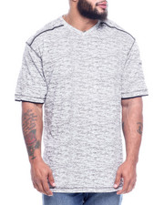 T-Shirts - All Over Print V-neck W/ Sleeve Pocket (B&T)-2313823