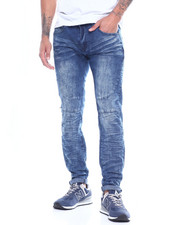 Jeans - CUT AND SEW STRETCH JEAN-2314091