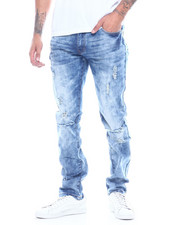 CALIBER - The Gum Shoe Distressed Jean-2314579