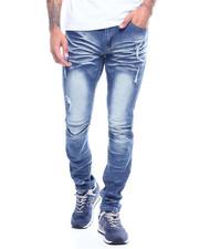 Men - Distressed Scrunch Stretch Jean-2314072