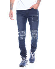 Jeans & Pants - Ripped Jean with Ripple Detail-2314384