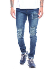 Jeans & Pants - Ripped Jean with Ripple Detail-2314365