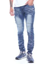 Jeans & Pants - Thigh Zipper Detail Stretch Jean-2313918