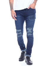 Men - Ripped Jean with Ripple Detail-2314357